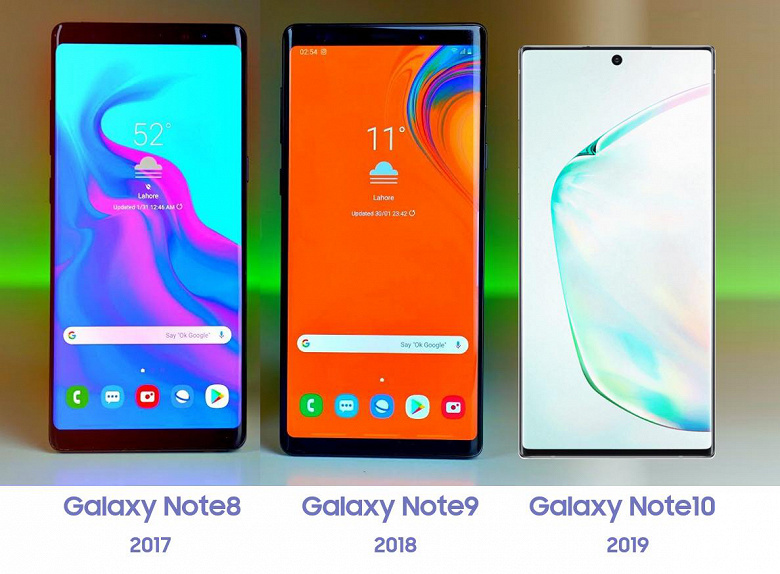 Galaxy Note 8,9,10