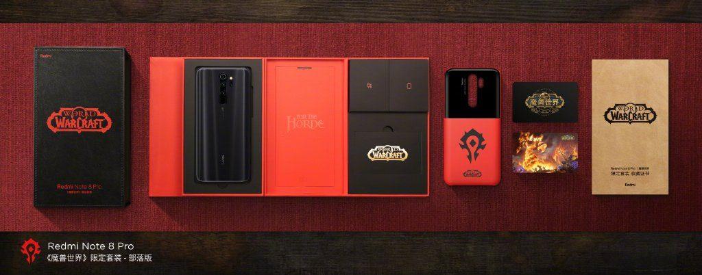 Redmi Note 8 Pro World of Warcraft Edition ОРДА