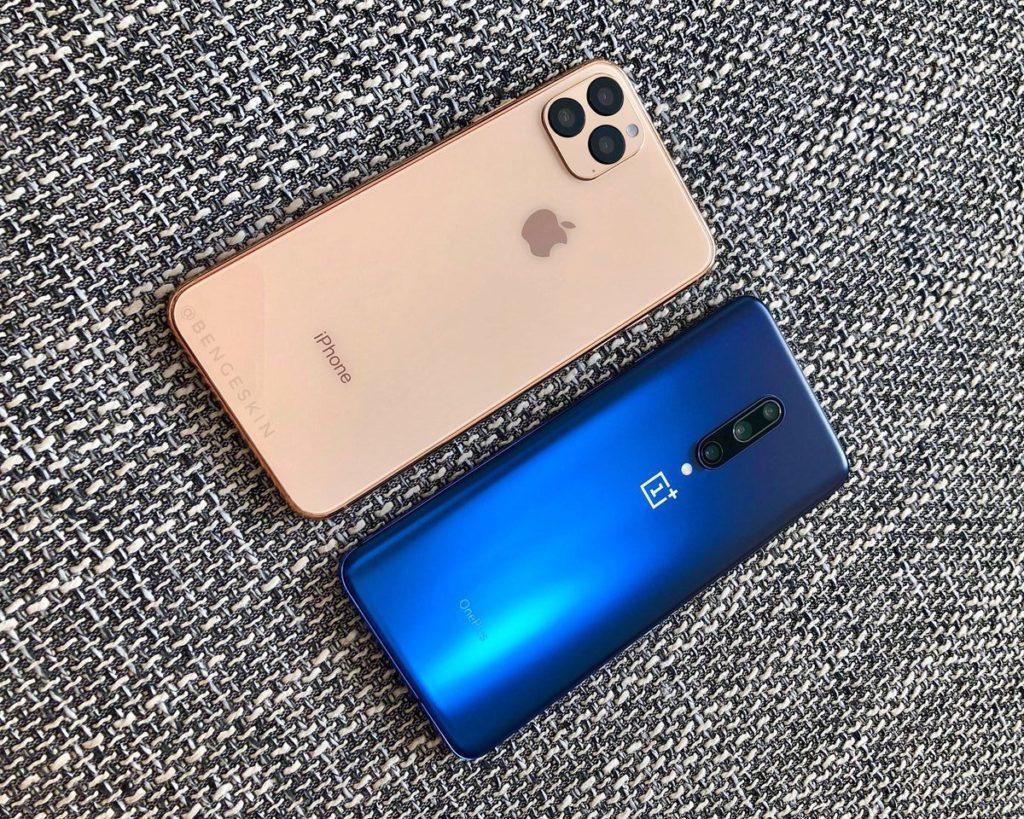 iPhone 11 Pro та OnePlus 7 Pro