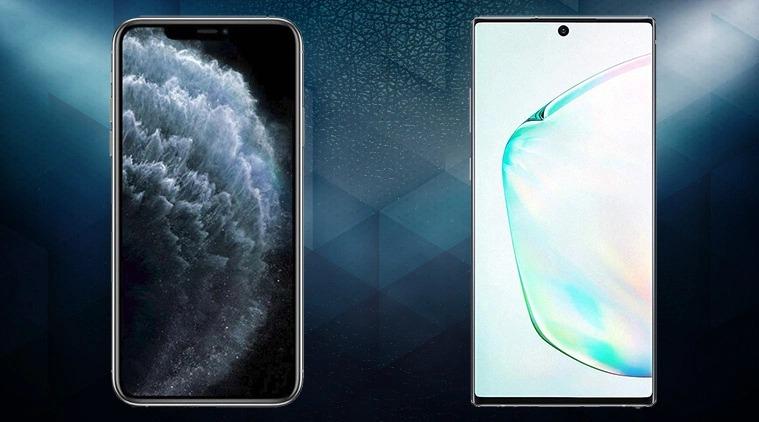 iPhone 11 Pro Max vs Samsung Galaxy Note10 +