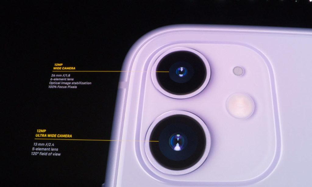 Камери iPhone 11