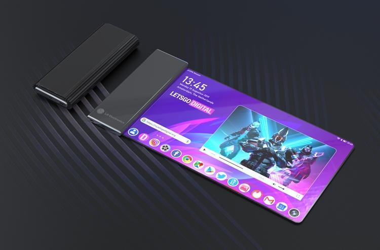 Гнучкий смартфон LG