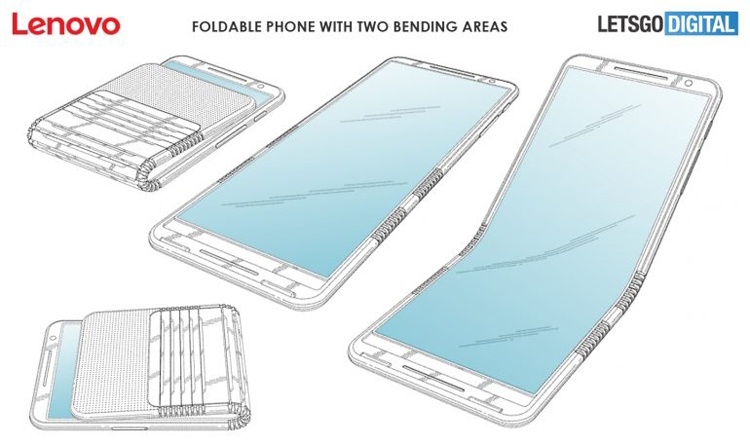 Lenovo гнучкий смартфон