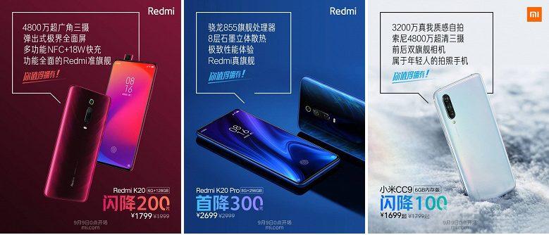 Xiaomi падіння ціни