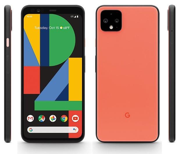 Google Pixel 4 Оранжевий