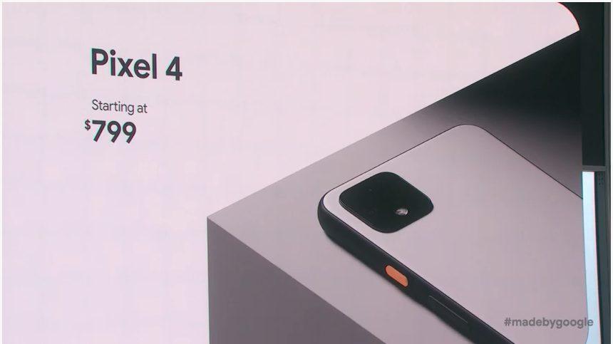 Google Pixel 4 ціна