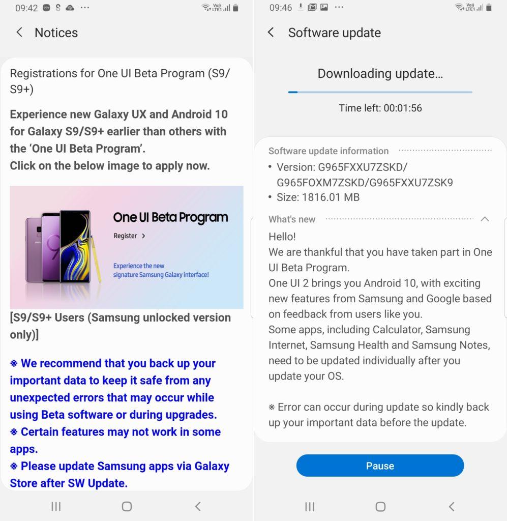 Samsung Galaxy S9 і Galaxy S9 +
