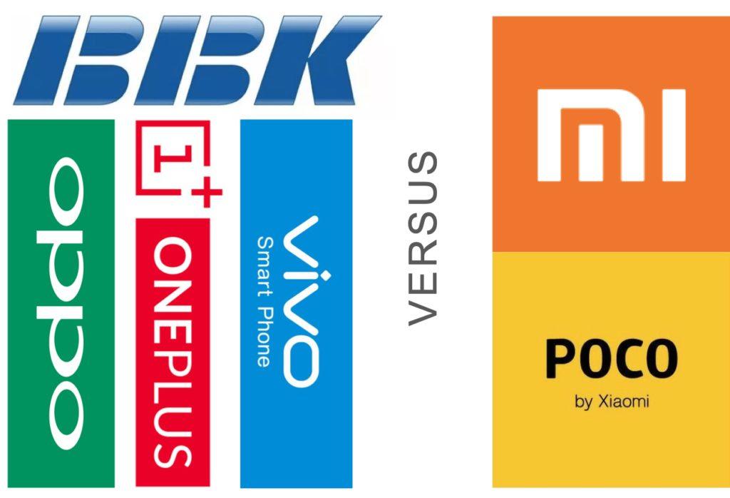Битва між BBK і Xiaomi