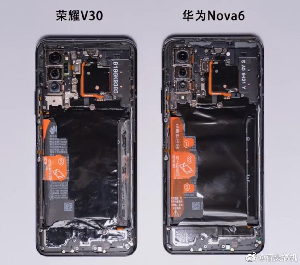 Чим Honor V30 відрізняється від Huawei Nova 6