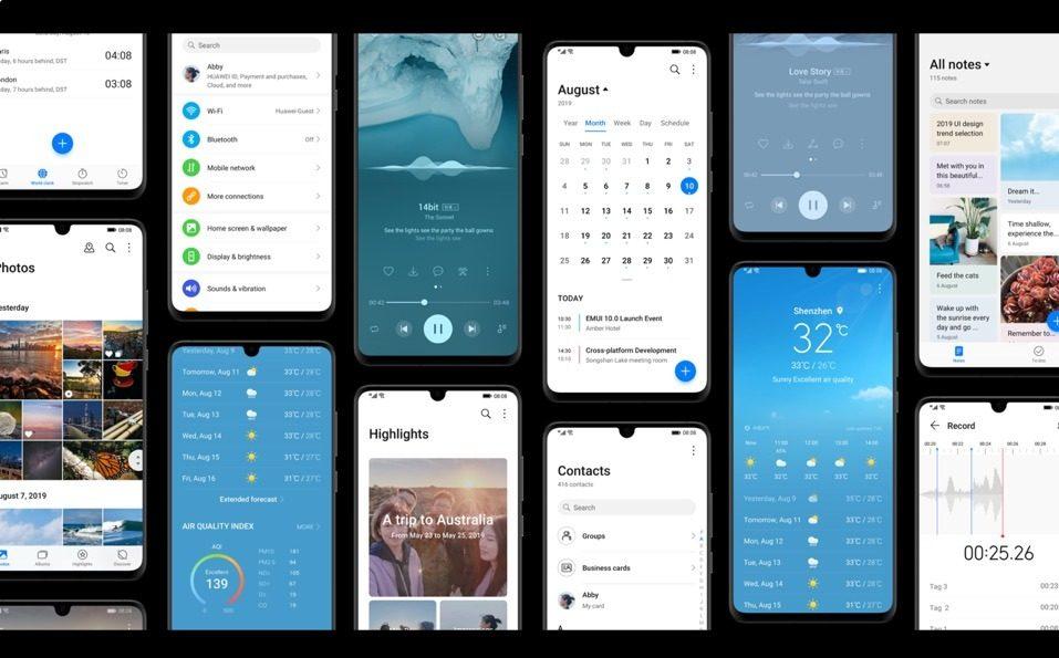 EMUI 10 на Android 10 вийшла відразу для 14 смартфонів HUAWEI