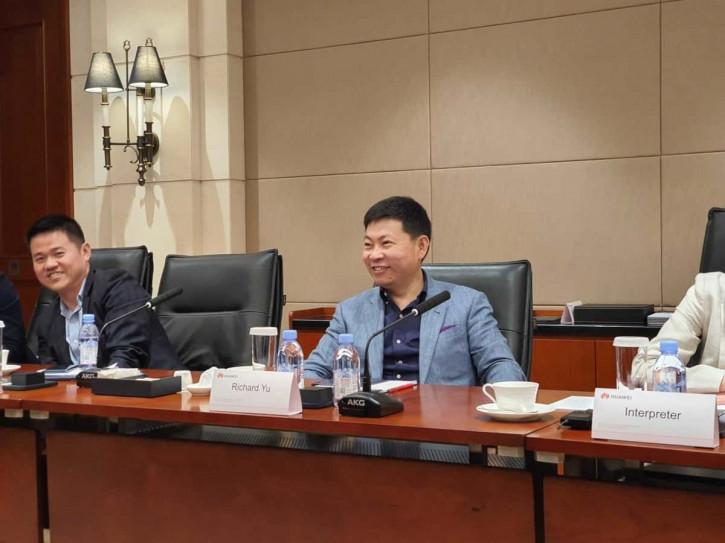 Генеральний директор групи споживачів Huawei Річард Ю