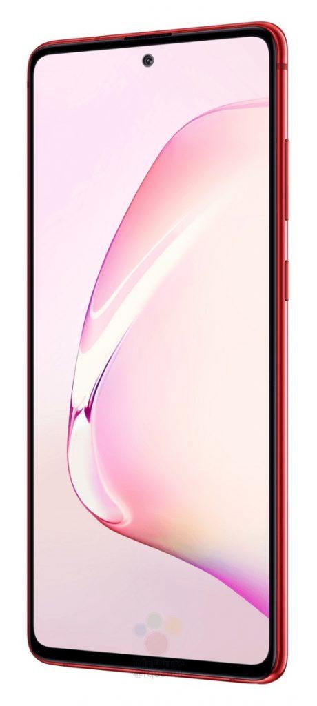 Якісні рендери Samsung Galaxy Note 10 Lite в трьох кольорах
