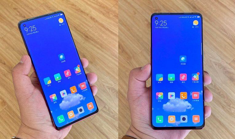 Xiaomi Mi 10-ekran