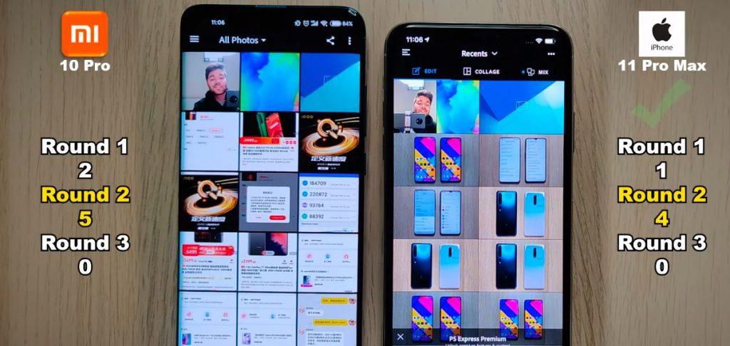 Xiaomi Mi 10 Pro порівняли з iPhone 11 Pro Max