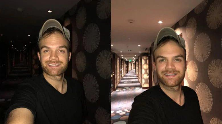 Фото зі спалахом зліва і без спалаху справа - результат очевидний