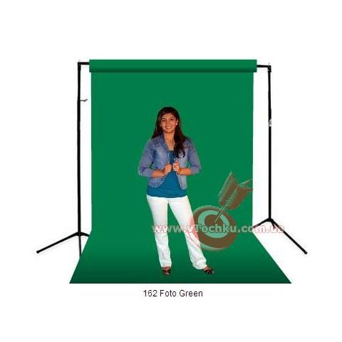 Фон бумажный BD 162 CW Foto Green - зелёный 2,72 х 11,0 м