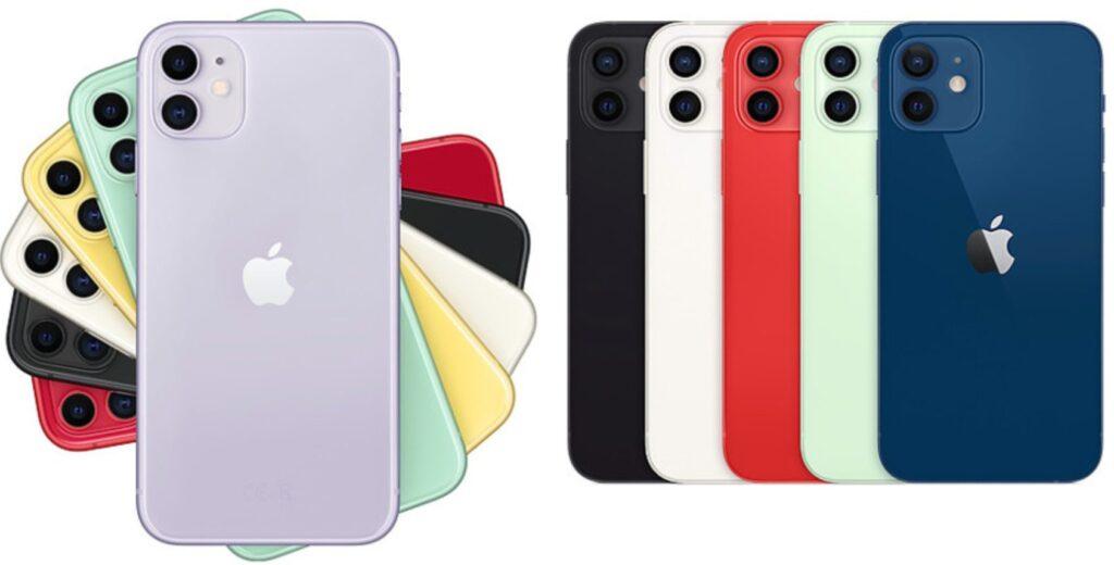 iPhone 11 і iPhone 12