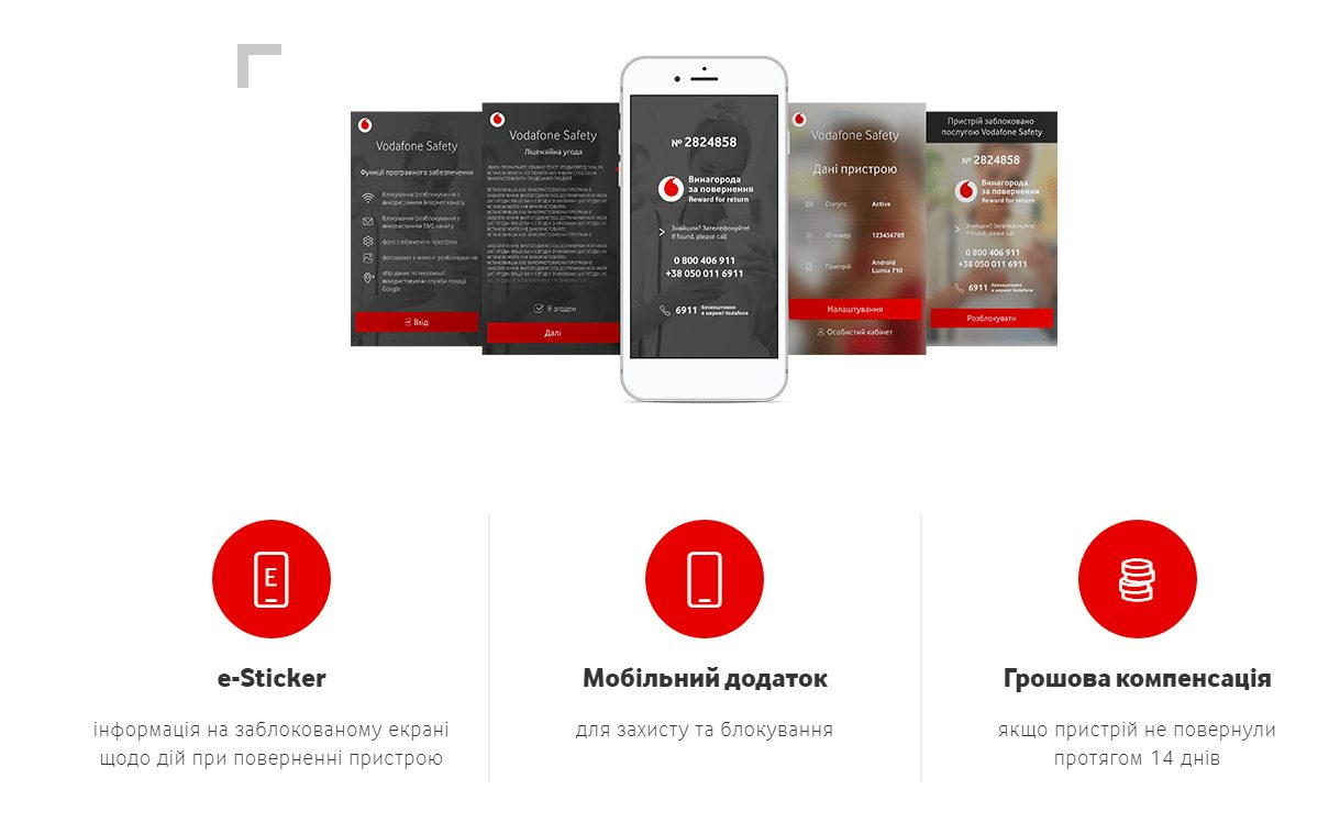 Vodafone safety