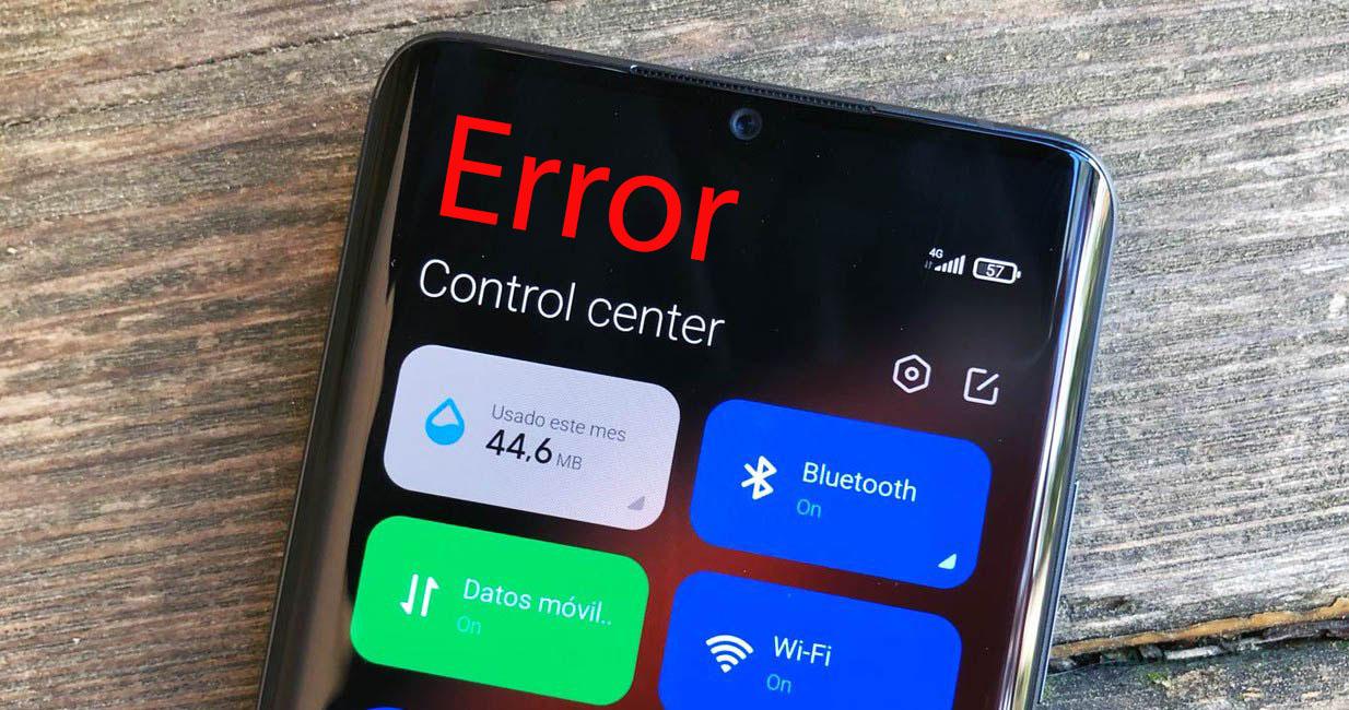 Xiaomi error