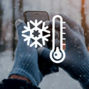 смартфон зима