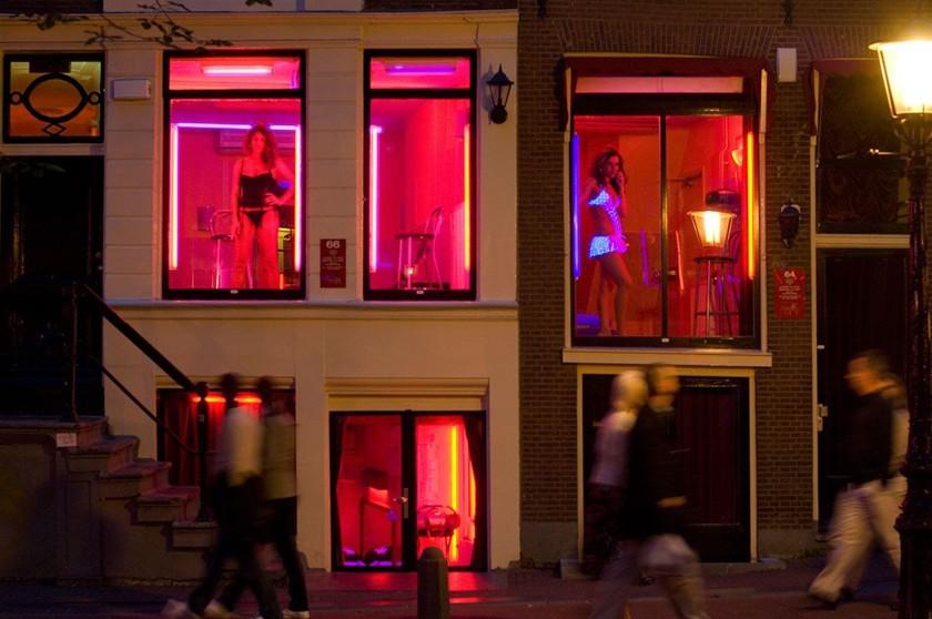 вулиця червоних ліхтарів