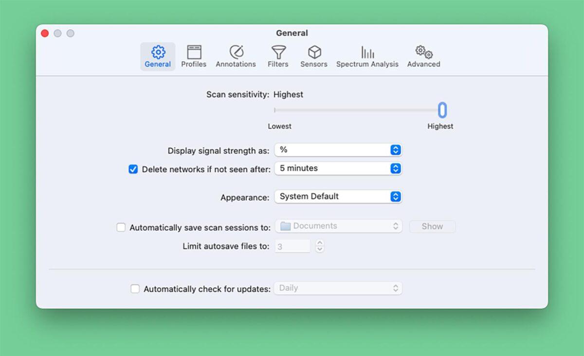 WiFi Explorer Pro