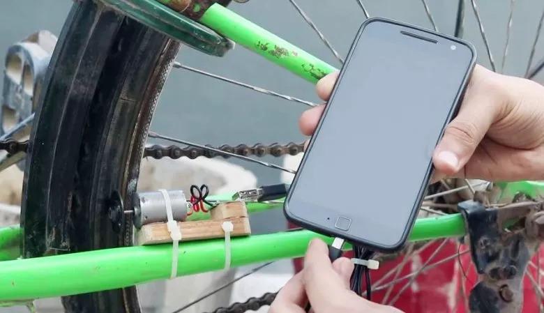 зарядка велосипед