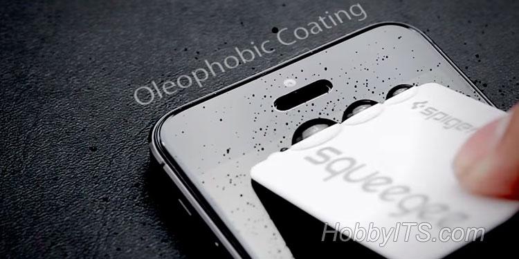 олеофобне покриття